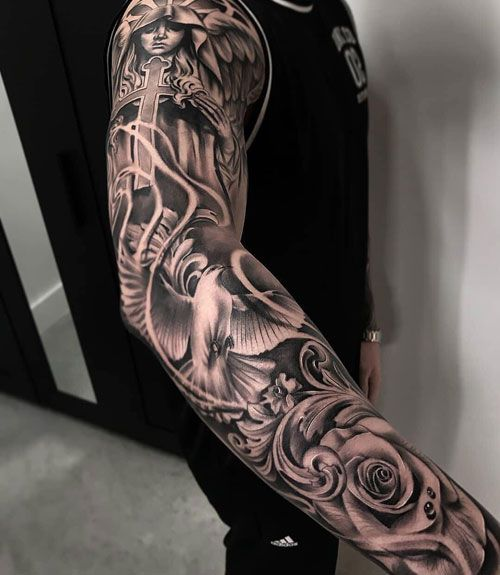 badass sleeve tattoo ideas