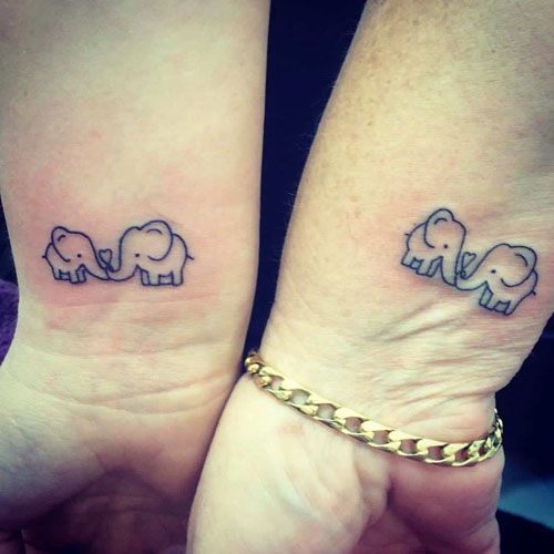mother and daughter tattoo ideas