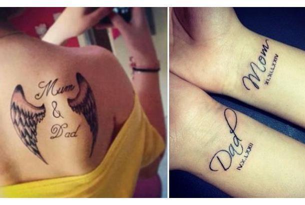 mum and dad tattoo ideas
